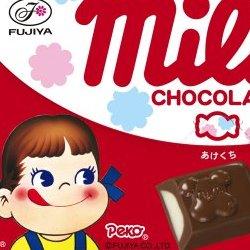 不二家 ミルキーチョコレート 12粒×10個