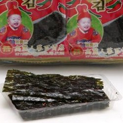 トウガラシのり(唐辛子のり) 48袋  (半切れサイズ韓国のり、本場のノリ、人気の海苔)