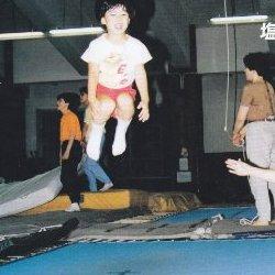 子どものトランポリン運動―エアリアル・トレーニング